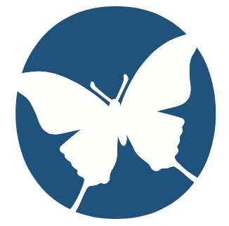The Hospice Insider butterfly logo
