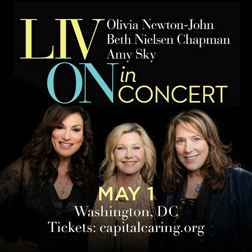 Liv On poster Olivia Newton-John blog post